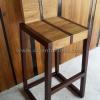 เก้าอี้บาร์ไม้สัก CBR -07