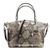 COACH MADISON SMALL KELSEY SATCHEL IN PYTHON EMBOSSED LEATHER # 28087