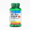 ** พร้อมส่ง ** วิตามินรวม ABC Plus Senior Multi-Vitamin 120 เม็ด พร้อมส่ง ฟรี EMS