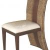เก้าอี้ไม้แต่งผักตบชวา IFWH-004