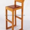เก้าอี้บาร์เบาะหนังวัวแท้ CBR -06