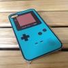 เคสไอโฟน4 เกมส์บอย สีฟ้าน้ำทะเล