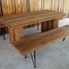 ชุดโต๊ะอาหารไม้สัก Liger Dining Table
