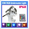 10W Underwater RGB LED Flood Wash Pool Waterproof Light Spot Lamp 12V Outdoor  Swimming Pond Park Fountain Lamp
