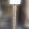 โคมไฟตั้งพื้นไม้เก่า AU-06