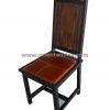 เก้าอี้ไม้พร้อมเบาะหนัง CH-208