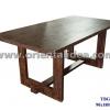 โต๊ะอาหารไม้สัก TBG-147
