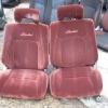 E92 เบาะE92 เบาะโดเรมอน สีแดง ปัก Limited เบาะDoraemon เบาะToyota Corolla เบาะโตโยต้า  เบาะAE90 เบาะAE91 เบาะAE92