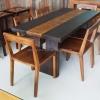 ชุดโต๊ะอาหารไม้ Tika Dining Table