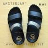 **พร้อมส่ง** FitFlop AMSTERDAM : Black : Size US 8 / EU 39