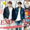 Pre Order / G(Book) GRAZIA Korea : August Second (2014) (EXO)