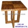 โต๊ะกลางไม้ TBG-09
