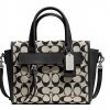 COACH BLEECKER MINI RILEY CARRYALL IN PRINTED SIGNATURE FABRIC # 30168