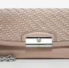 COACH Kristin Woven Leather Fashion Wristlet #47479 Tuberose