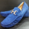 รองเท้าแอร์แมส  Hermes Loafers หนังกลับ