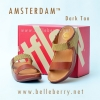 **พร้อมส่ง** FitFlop AMSTERDAM : Dark Tan : Size US 8 / EU 39