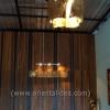 โคมไฟเพดานกาบไม้