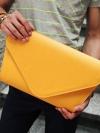 กระเป๋าเอกสารหนังพร้อมสายสะพายแฟชั่นผู้ชายเกาหลีมี6สี