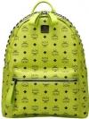 Pre Order / กระเป๋าเป้แฟชั่น MCM BACK LEGEND มีสีเขียว ตรีแบรนด์ ด้านในผ้าสีเรียบ ไม่มีโลโก้