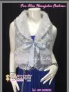 มี3สีดูด้านใน เทา ดำ ครีมโอรส สวยสไตล์สาวเกาหลี TB606 :Gorgeous Fur Trend :เสื้อกั๊กเฟอร์สุดเก๋ แต่งลูกไม้ ลุคสาวเกาหลี ด้านในซับอย่างดีด้วยซาติน สำเนา