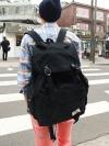 กระเป๋าเป้BACKPACKผ้าโพลีแฟชั่นผู้ชายเกาหลีมี3สี