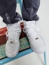 รองเท้าหุ้มข้อแฟชั่นผู้ชายจากเกาหลีมี5สีสวยสด