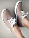 รองเท้าผ้าใบสไตล์ลำลองแฟชั่นผู้ชายจากเกาหลีมี2สี