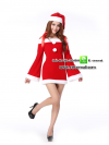 ชุดซานตาครอสสาว