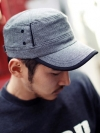 หมวกcapผ้าแฟชั่นผู้ชายจากเกาหลีมี3สี
