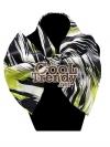 ผ้าพันคอสำเร็จรูป ผ้าไหมซาติน : TB048 - size 65*35 cm