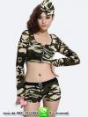 ชุดทหารสาวเอวลอย
