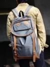 กระเป๋าเป้BACKPACKผ้าโพลีแฟชั่นผู้ชายเกาหลีมี4สี