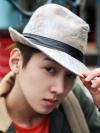 หมวกผ้าสไลต์วินเทจแฟชั่นผู้ชายจากเกาหลีมี4สี