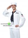 ชุดแฟนซีชายทหารเรือ ชุดกะลาสีชาย ชุดคอสเพลย์ชาย
