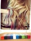 Pre Order / ชอล์กเปลี่ยนสีผมโดยเฉพาะ Senellier Soft Pastels mungyo มีให้เลือก 48 สี ขายยกเซ็ท แบรนเกาหลี ยี่ห้อ Mungyo
