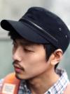 หมวกcapผ้าลูกเล่นซิปแฟชั่นผู้ชายจากเกาหลีมี4สี