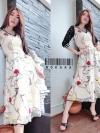 ATA487 พร้อมส่ง Best seller Kloset Dress เดรสทรงเก๋ ผ้าเน็ตปักลายทั้งตัว ลายนกฟลามิงโกสลับหัวใจ แขนแต่งเลื่อม เก๋ไก๋ในชุดเดียว #566
