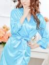ชุดเสื้อคลุมสีฟ้าสดใส