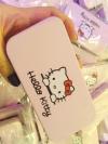 พร้อมส่ง / ชุดแปรงแต่งหน้า Hello Kitty พร้อมกล่องเหล็ก 7 ชุด