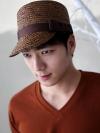 หมวกcapลายถักแฟชั่นผู้ชายจากเกาหลีมี2สี