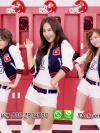 ชุดเชียร์ลีดเดอร์ วง Girls' Generation สีน้ำเงิน