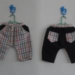 กางเกงเด็กผ้าขาวม้า ไซส์ s