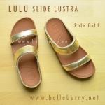 **พร้อมส่ง** รองเท้า FitFlop Lulu Slide Lustra : Pale Gold : Size US 5 / EU 36