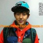 [พร้อมส่ง] หมวก รันนิ่งแมน running man แบบซงจีฮโยใส่ สีฟ้าเขียว กวางฮี