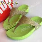 รองเท้าแฟชั่น รองเท้าเพื่อสุขภาพ Fitflop หูหนีบเกร็ดเพ็ชร