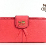 Coach Madison Leather Skinny Credit Card Wallet # 46612
