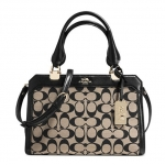 COACH MADISON MINI LEXINGTON CARRYALL IN PRINTED SIGNATURE FABRIC # 32909