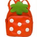 """""""พร้อมส่ง""""กระเป๋าเป้เด็กราคาถูก Brand LINDALINDA เหมาะกับเด็กเล็กในการสะพายไปเที่ยว หรือไปเรียนค่ะ มี2ซิป จุของได้เยอะค่ะ -ลายสตรอเบอรี่"""