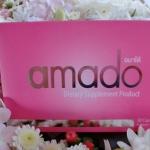 ผลิตภัณฑ์เสริมอาหาร Amado อมาโด้ by Chaintana ช่วยเติมเต็มสุขภาพคุณผู้หญิง ปริมาณ 30 เม็ด