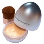 {เลิกผลิต} ** Skinfood Black Egg Pore Foundation #02 Natural Beige 15g [13000w] : กระชับและปกปิดรูขุมขนให้ดูเรียบเนียน ให้ผิวคุณสวยเรียบเนียนได้อย่างมั่นใจ รองพื้นเนื้อดี เกลี่ยง่าย พร้อมแปรง เก็บและพกพาได้สะอาดและสะดวกค่ะ